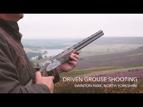 Grouse Shooting at Swinton Park by Jonathan M. McGee