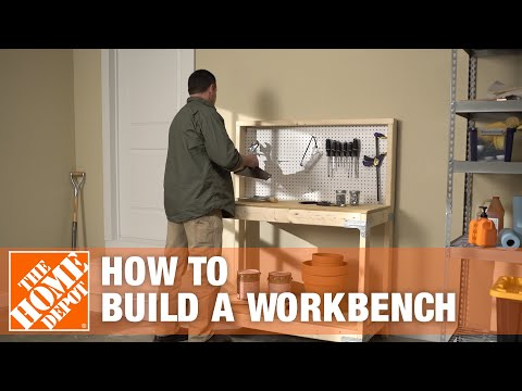 How To Build A Workbench | The Home Depot
