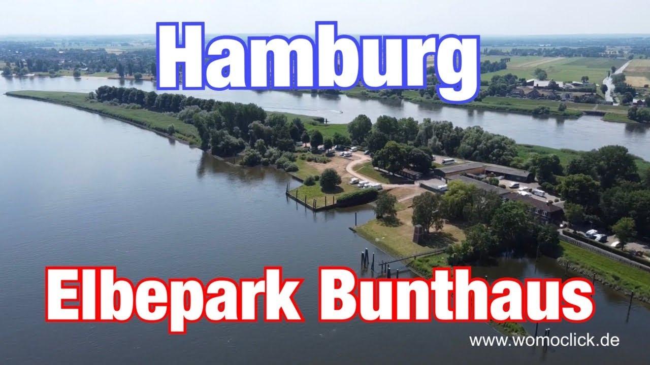 Hamburg Elbepark Bunthaus / Wohnmobilstellplatz / Womoclick