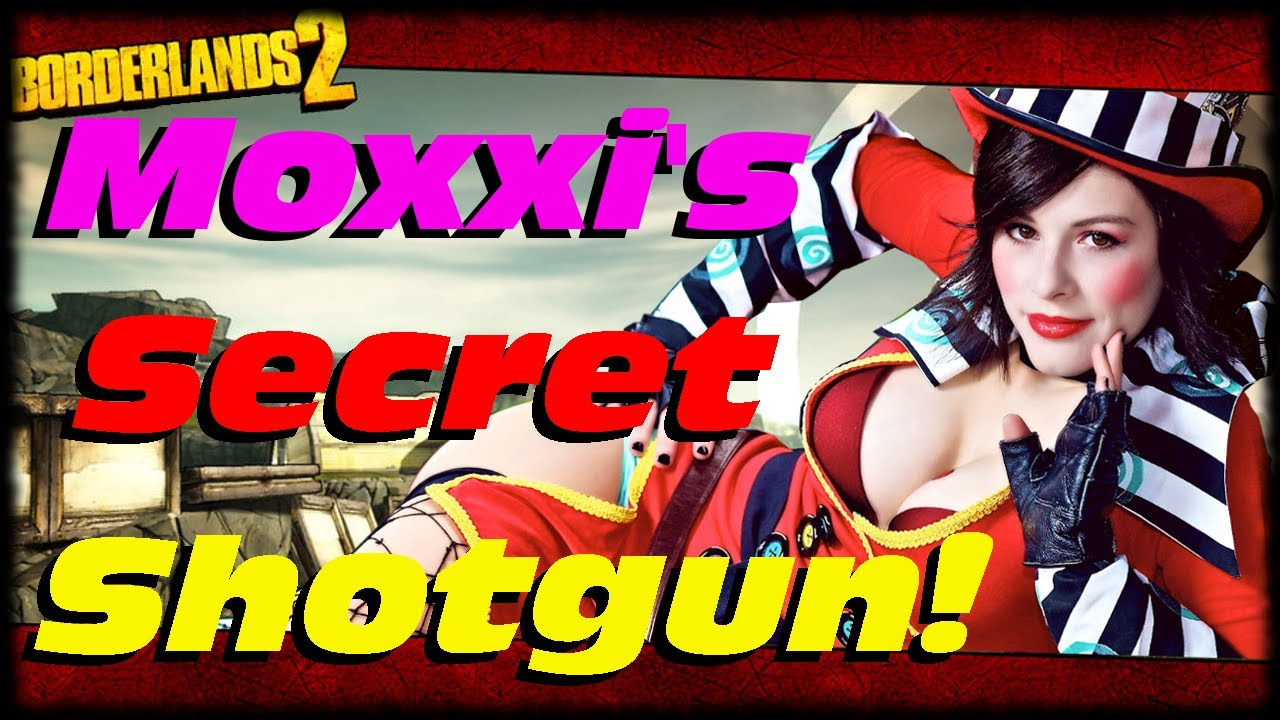 Borderlands 2 Moxxis Secret Guns Easter Egg Heartbreaker -7860