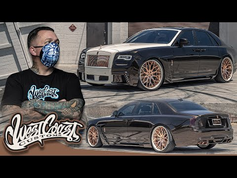Ryan Transforms His Rolls Royce Ghost | West Coast Customs