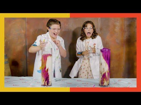 HOW TO MAKE EXPLODING FOAM!   Hayley LeBlanc & London Angel