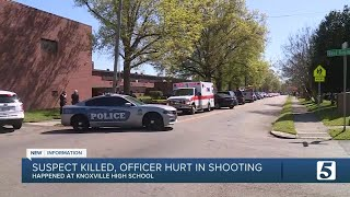 Student Killed, Officer Injured In Shooting At Knoxville School