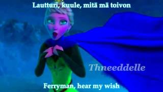 Aqua!Elsa sings Lautturi (Ferryman)