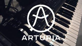 Arturia Keylab MK2 - миди-клавиатуры (NAMM Musikmesse Russia 2018)