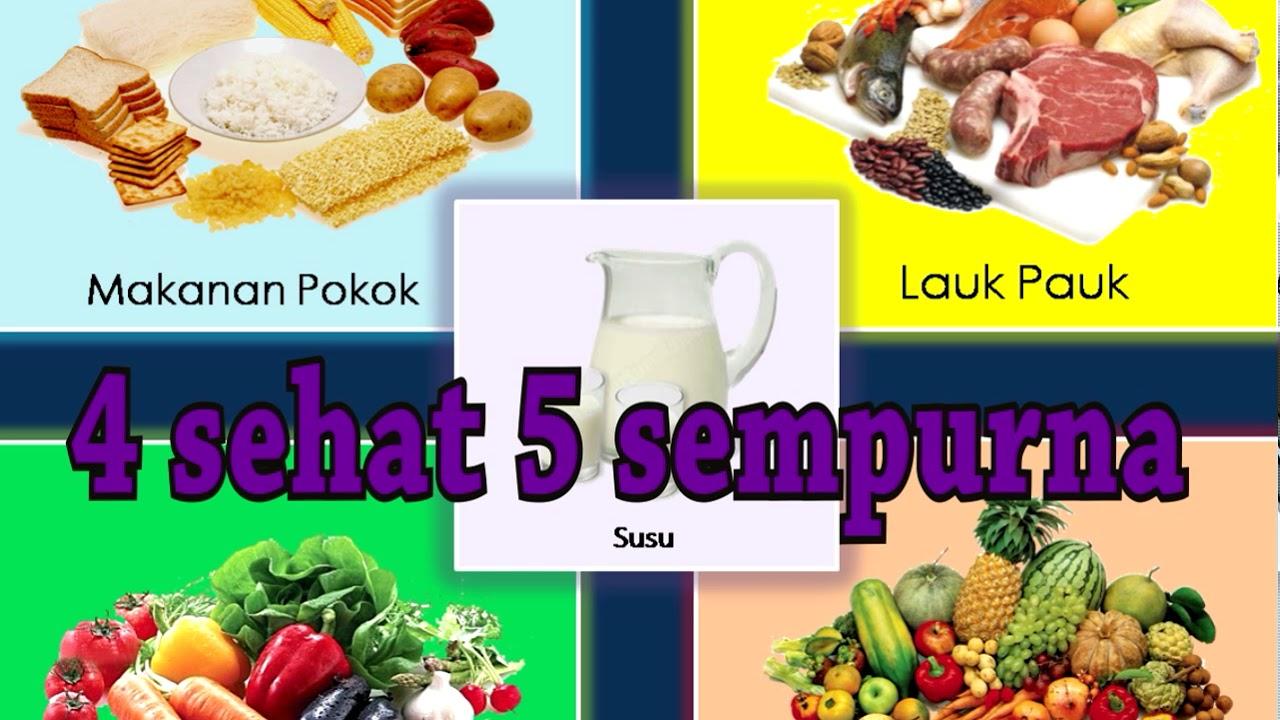 Makanan Pokok 4 Sehat 5 Sempurna