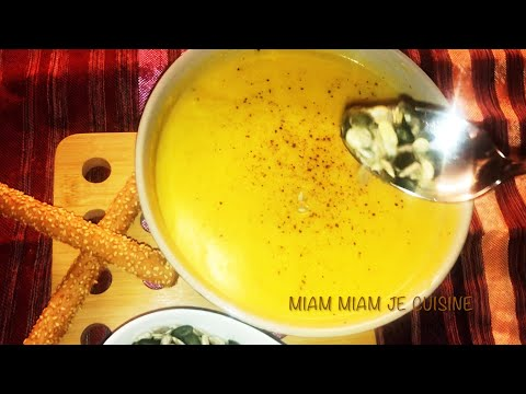 soupe-à-la-courge-et-patate-douce-légère-et-délicieuse😋😋-شوربة-القرع-الأحمر-والبطاطس-الحلوة