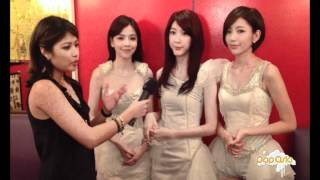 SBS PopAsia meets the Dream Girls (李毓芬)