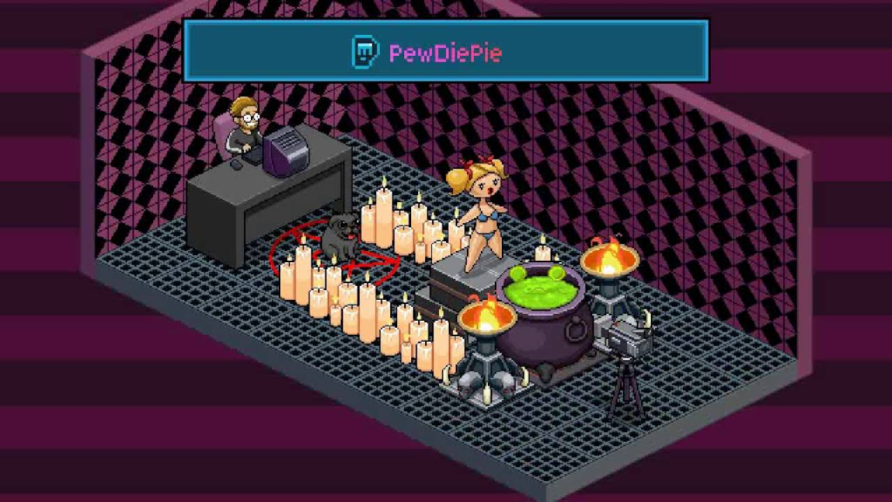 Pewdiepie Tuber Simulator Room Design Contest Youtube