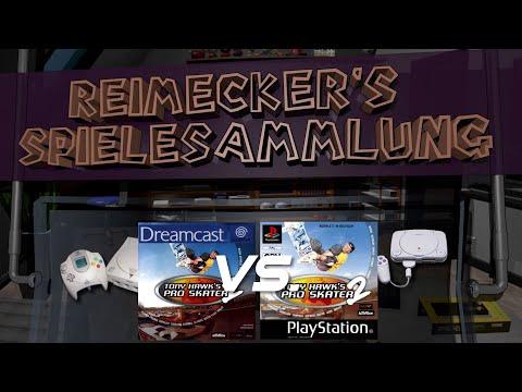 Compare : Tony Hawks Pro Skater 2 [Dreamcast] - [Playstation] Side by Side 4K
