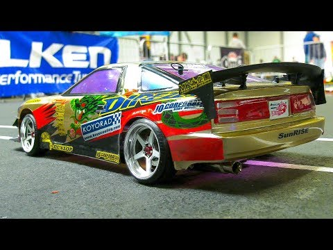 UNIQUE RC MODEL DRIFT CARS IN DETAIL AND ACTION!! *RC DRIFT BUS, RC TOYOTA, RC BMW