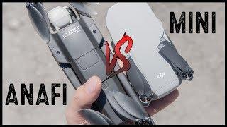Mavic Mini Vs Parrot Anafi | Which Is Better?