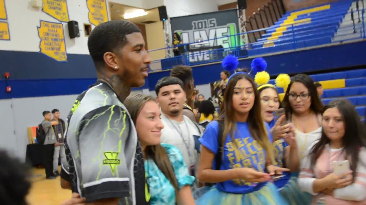 Giveback Game With Carl Hayden High School Youtube