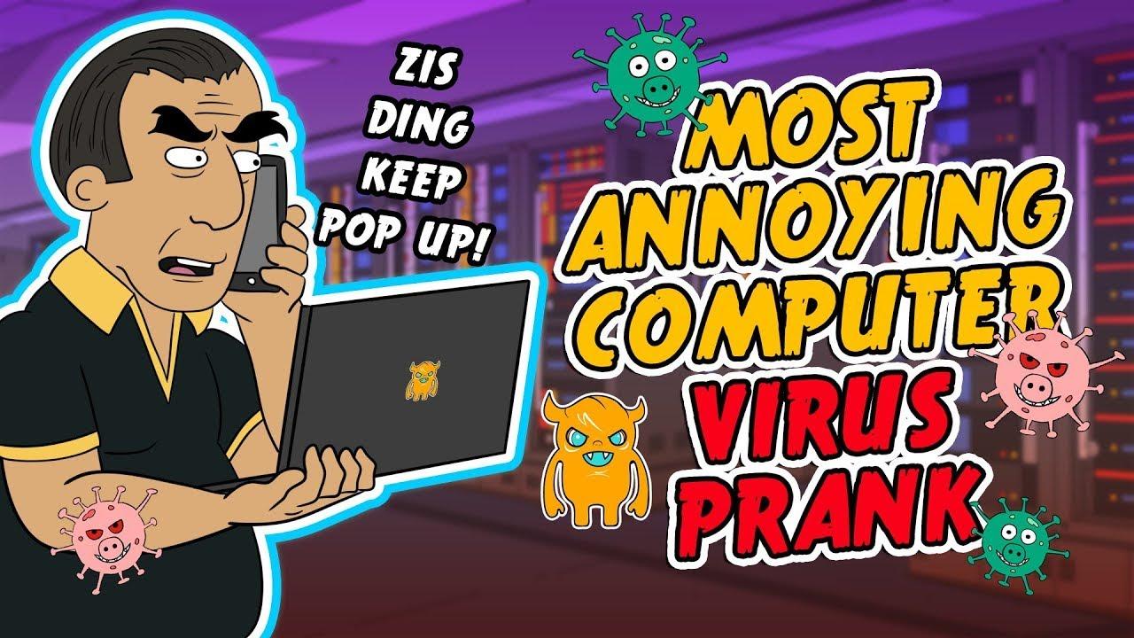 Shocking Computer Virus Prank Call! | Ownage Pranks