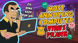 Shocking Computer Virus Prank - Ownage Pranks