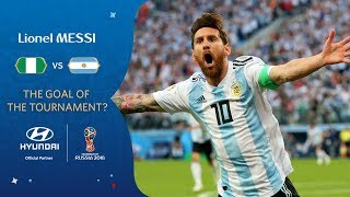 LIONEL MESSI Goal - Nigeria v Argentina - MATCH 39