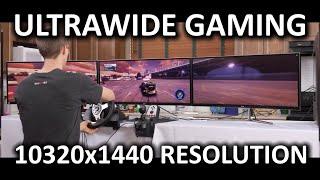 Insane Eyefinity Surround Testing - 10320x1440 Resolution - Part 2