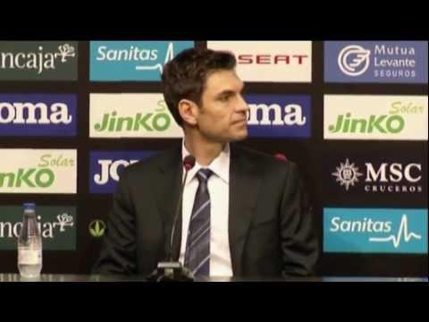 New Valencia coach Mauricio Pellegrino excited for future