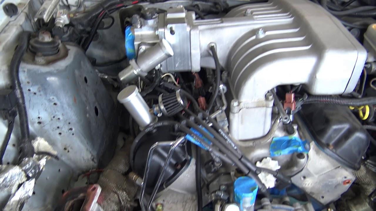 Foxbody On3 Turbo 351w Build - Part 1 Tear Down - YouTube