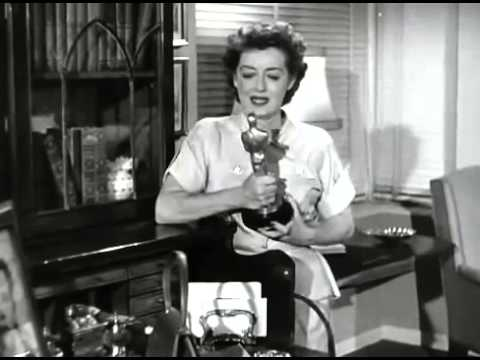 Bette David and her Oscar