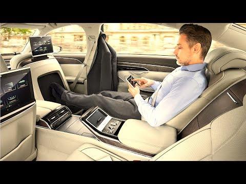 Audi A8L INTERIOR REVIEW 2018 Audi A8 Limousine INTERIOR 2018 New Audi A8L  CARJAM TV HD