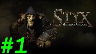 Прохождение Styx:Master of Shadows - Часть 1 [Кинжал и завод] By Vlad