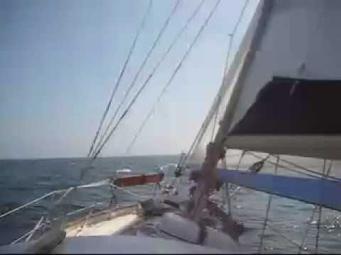 HALLBERG RASSY - Sailing across the Irish Sea