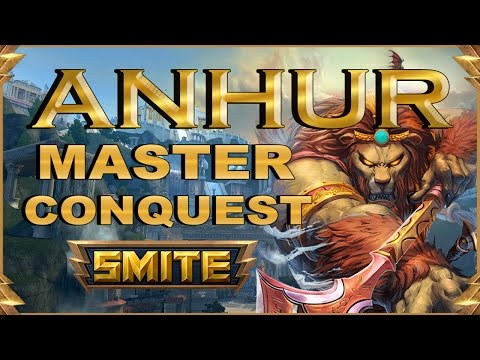SMITE! Anhur, En conquest mola mas :D! Master Conquest S4 #23