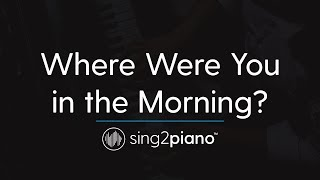Where Were You in the Morning? (Piano Karaoke) Shawn Mendes