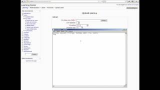 Урок 21. Как загрузить пользователей списом CSV в Moodle