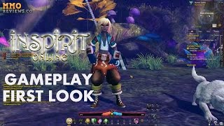 Inspirit Online Gameplay First Look - Free to Play Anime Action MMORPG (Closed Beta)