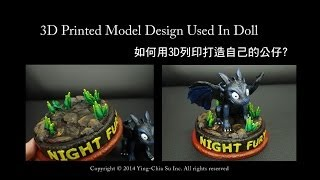 【3D列印教學】3D列印設計公仔範例流程 Sculptris+Meshmixe