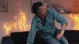 120 Sekunden, um zu überleben. Was tun, wenn's brennt?
