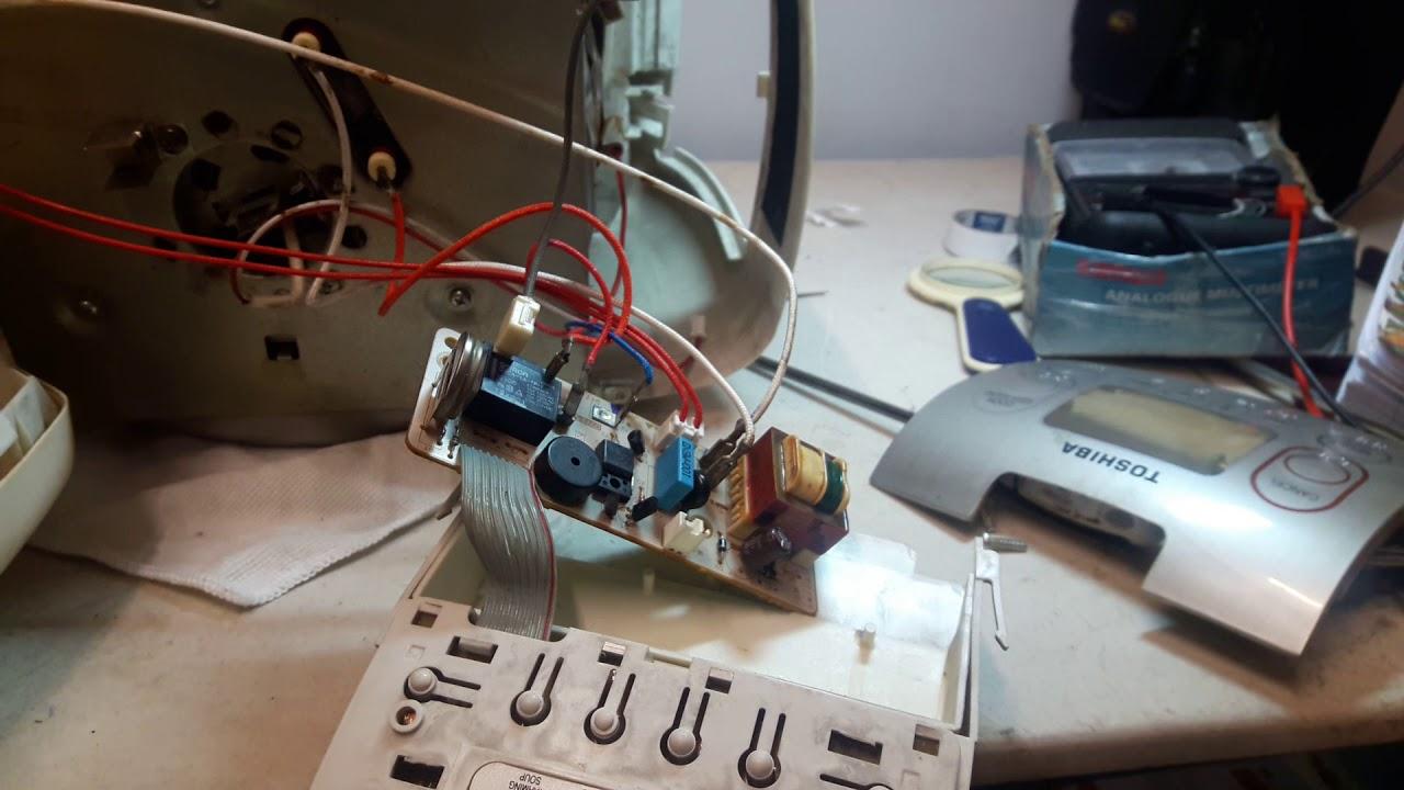 Sửa nồi cơm Điện tử Toshiba RC-18NMF lỗi không hiển thị màn hình(error not display)s/chữa 0909106234