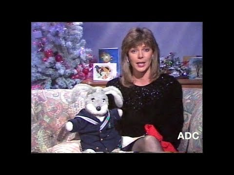 TSW Ruth Langsford in-vision & Gus Honeybun in vision 25th December 1988 1 of 3
