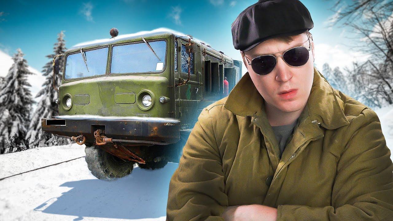 Snowrunner - МАЗ 357 - МОЩЬ! Строим КОСМОДРОМ!