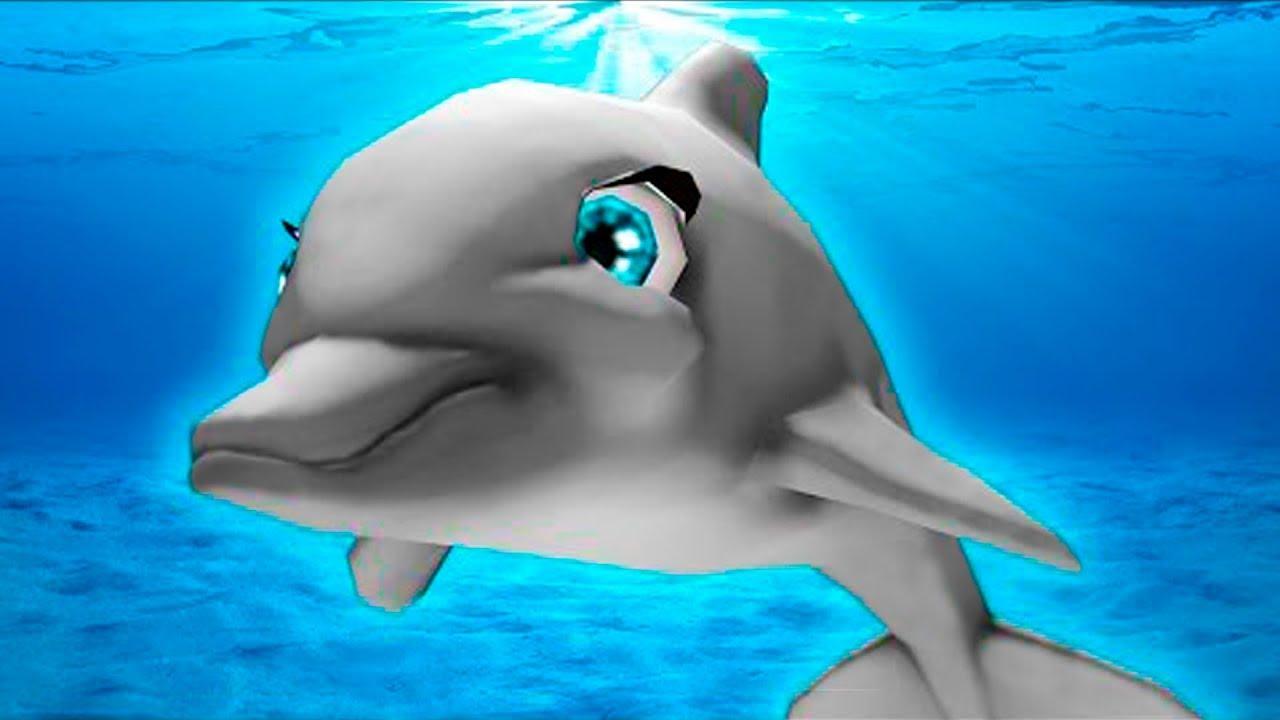 МАЛЕНЬКАЯ РЫБКА #1 Дельфин и морские рыбки в бассейне ...