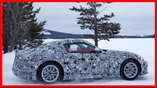 WOW - Toyota Supra Spied Winter Testing Alongside The BMW Z5 Convertible