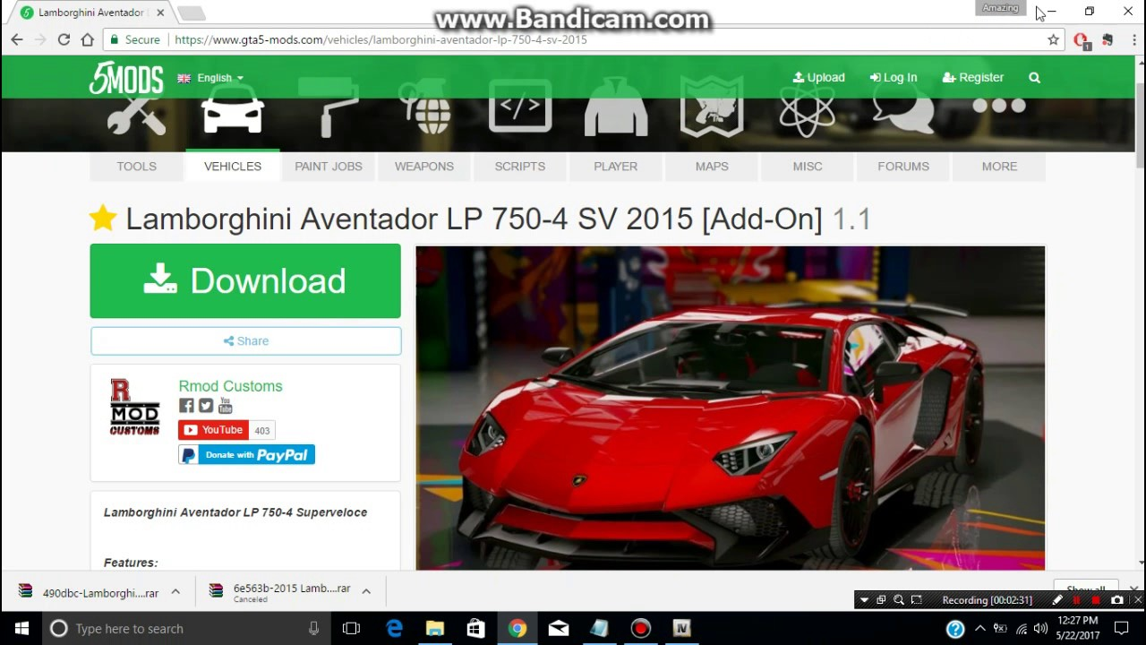 INSTALL ADD ON CAR MOD IN GTA 5 WITH PROOF VERY EASY