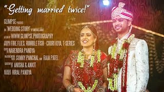 Gujarati Hindu Wedding Highlights of Anisha Ankit, at Anand, Gujarat, India