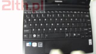 How to replace keyboard in laptop Toshiba NB500, remove or replacement keyboard