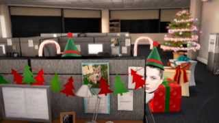 Elf yourself office party ( toby turner, john newman, john marstern, ezio and a guy from mw3 )