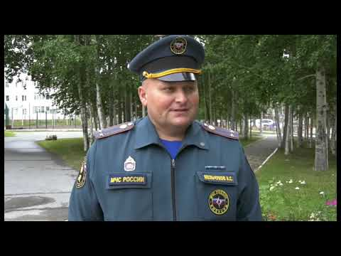 Алексей Мельчуков - нач. отдела надзорной деятельности и проф-ой работы по г. Мегиону ГУ МЧС