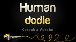dodie -  Human (Karaoke Version)