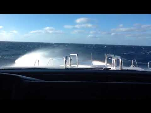 More Bass Strait with more wind