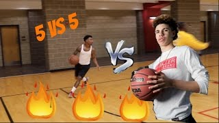 My Worse 5vs5 game why did it have to be against Lamelo Ball !!! vLog