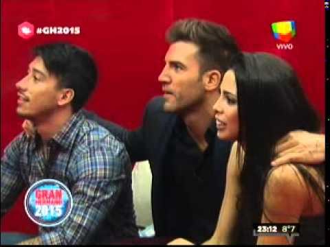 """El """"Big"""" mandó al frente a Nicolás y Romina"""