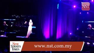 Jackie Evancho singing Nessun Dorma, at David Foster and friends Asia Tour