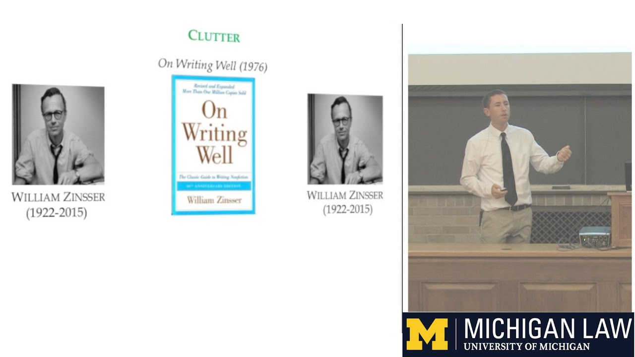Good with Words: A Series of Writing & Editing Courses from the University of Michigan