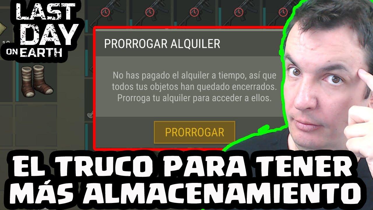 EL TRUCO PARA TENER MÁS ALMACENAMIENTO | LAST DAY ON EARTH: SURVIVAL | [El Chicha]